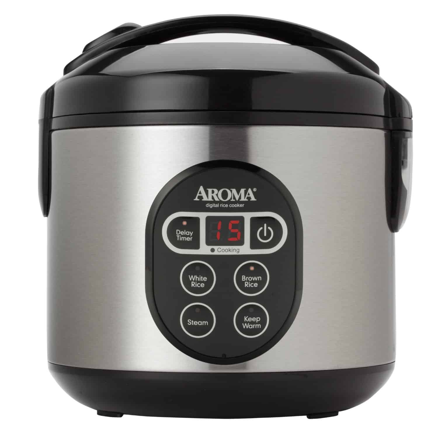 Aroma 8-Cup Digital Rice Cooker Review