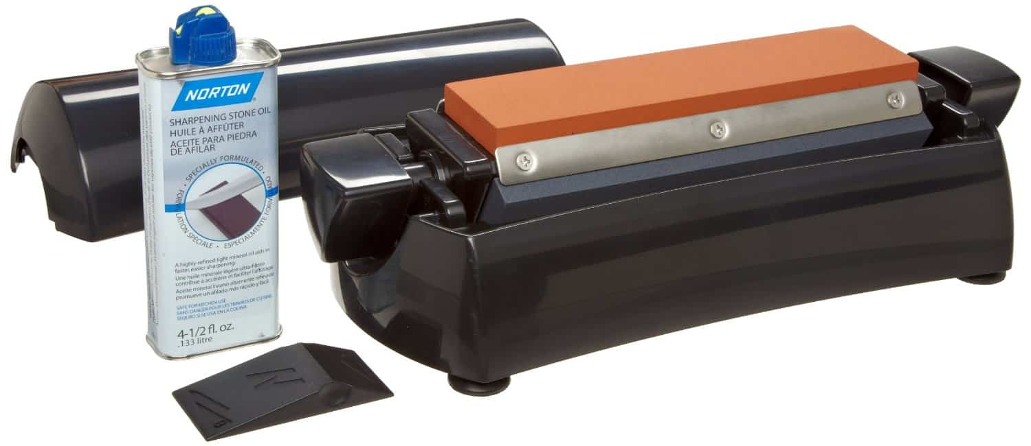 Norton IM200 -8″ Three Stone Sharpening System Review